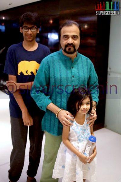 Yugi Sethu at Ramanujan Movie Premiere
