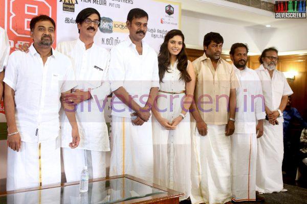 sathuranga-vettai movie press-meet-stills