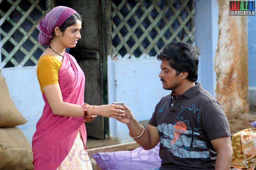 Actor Karan and Actress Shipali Sharma in Sooran Movie Stills