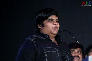 Director Karthik Subbaraj at Thottal Thodarum Audio Launch Function