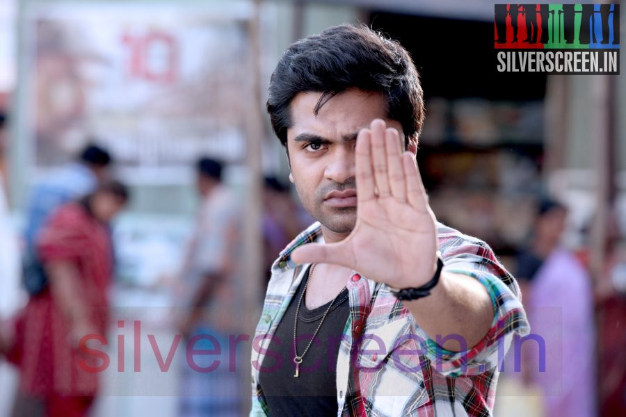Actor Silambarasan (Or STR Or Simbu) in Vaalu Stills