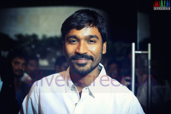 Dhanush at a movie event