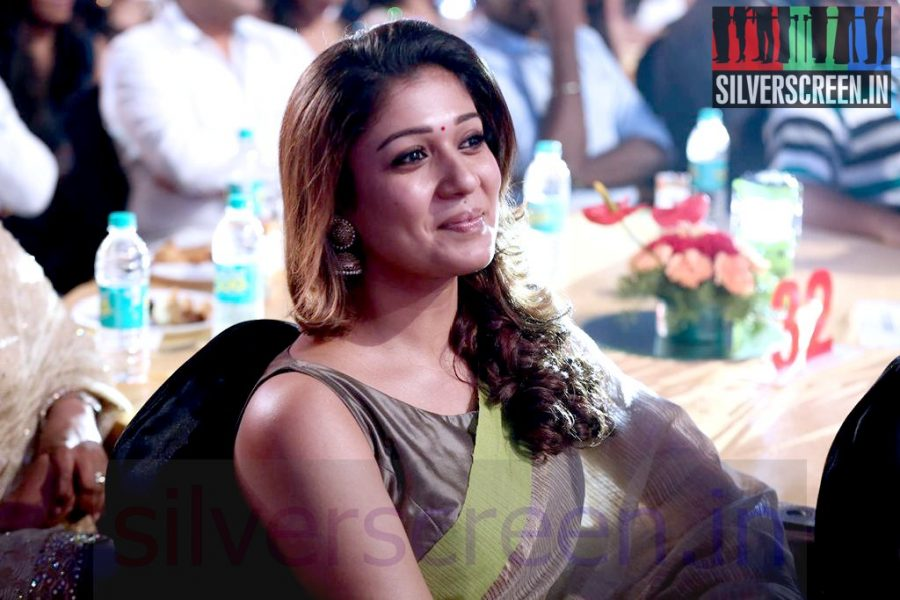 Actress Nayanthara at Vijay Awards 2014 Event
