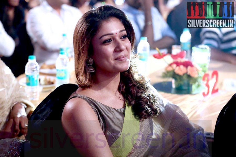 Actress Nayanthara at Vijay Awards 2014 Event