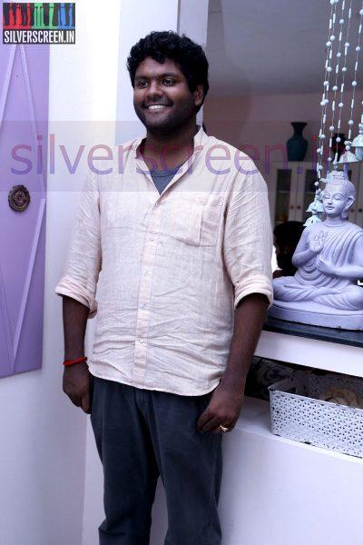 Director V Arun Kumar at Zero Movie Shooting Spot (Or On Location) Stills