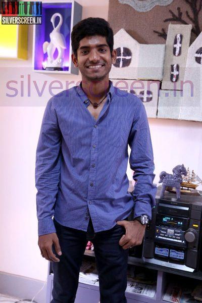 Music Director Nivas K Prasanna at Zero Movie Shooting Spot (Or On Location) Stills
