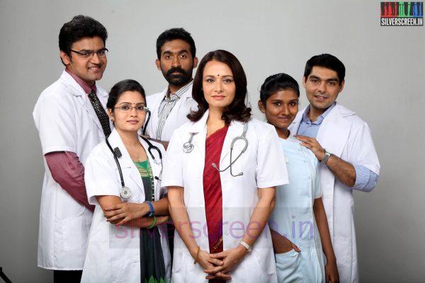Actress Amala in Uyirmei Tamil Serial Stills