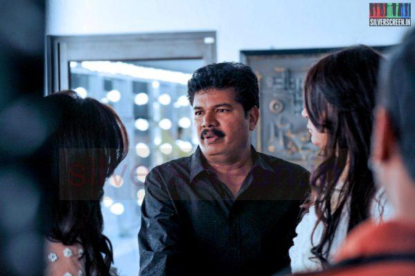 Director Shankar in Ai Movie Working Stills