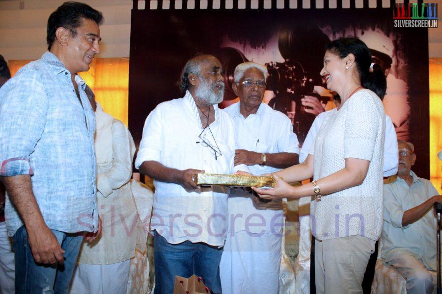 Actor Kamal Haasana and Actress Gouthami in Director RC Sakthi Birthday Celebration Stills