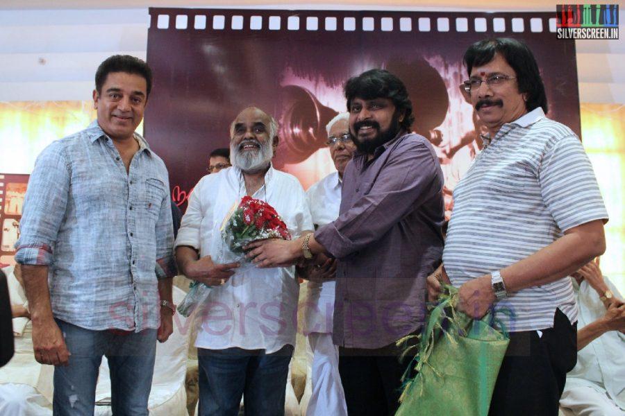 Actor Kamal Haasan, Director Vikraman and Chithra Lakshmanan in Director RC Sakthi Birthday Celebration Stills