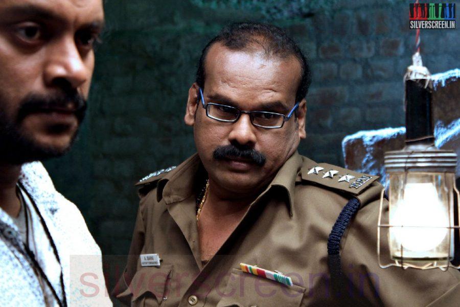 Actor A Venkatesh in Iravum Pagalum Varum Movie Stills