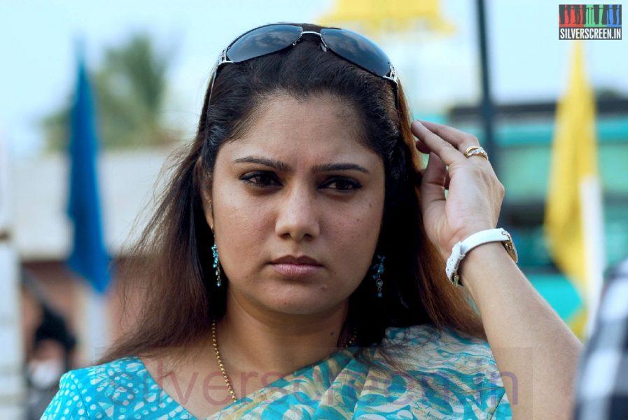 Actress Yuvarani in Iravum Pagalum VarumMovie Stills