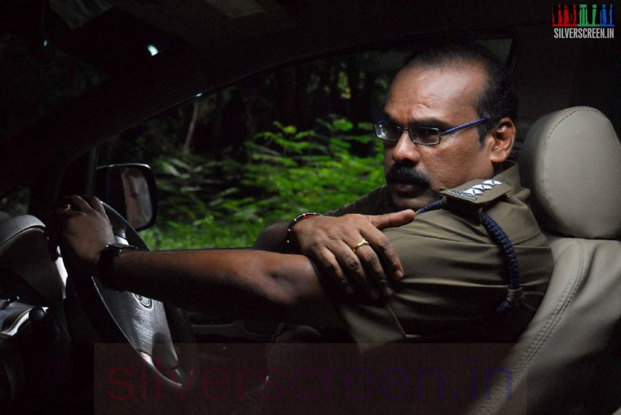 Actor A Venkatesh inIravum Pagalum Varum Movie Stills