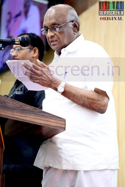 Director SP Muthuraman at the event by The Chambers of Commerce Honoring Life Time Achievement Award to Actor Kamal Haasan