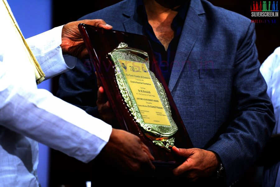 The Chambers of Commerce Honoring Life Time Achievement Award to Actor Kamal Haasan