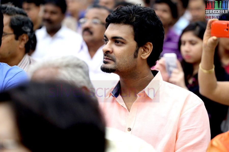 Actor Abhinay Vaddi at the event by The Chambers of Commerce Honoring Life Time Achievement Award to Actor Kamal Haasan