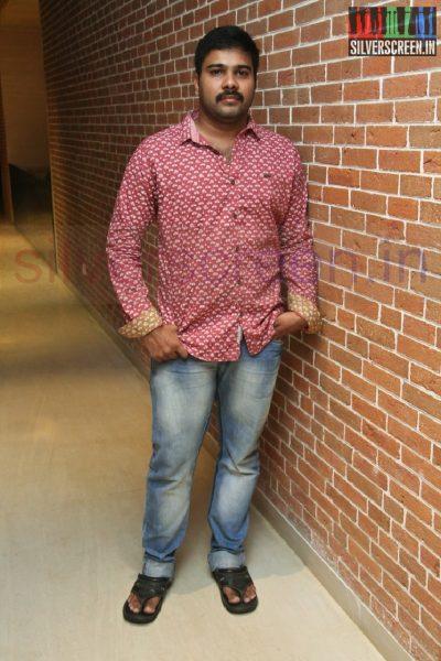 Director Karthik G Krish at Kappal Dinner with Stars Contest Stills
