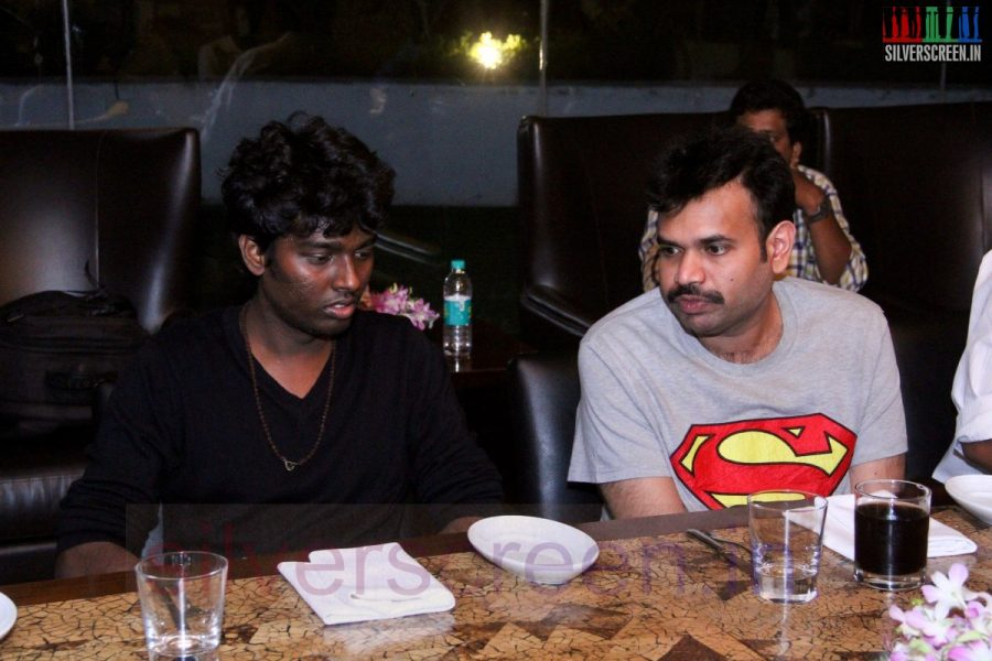 Director Atlee and Actor Premgi Amaren at Kappal Dinner with Stars Contest Stills
