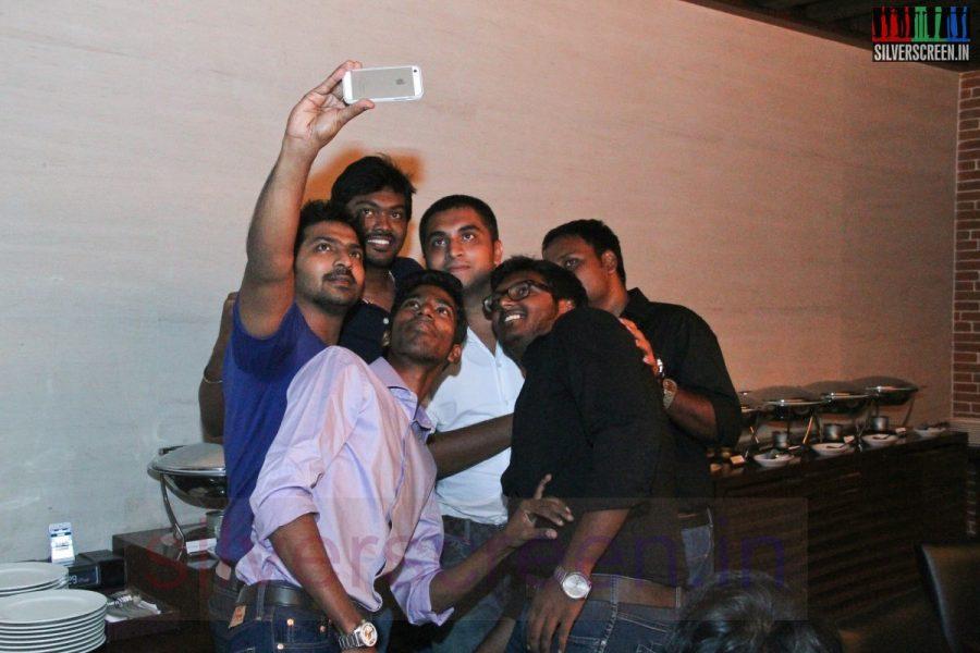 Actor Vaibhav at Kappal Dinner with Stars Contest Stills