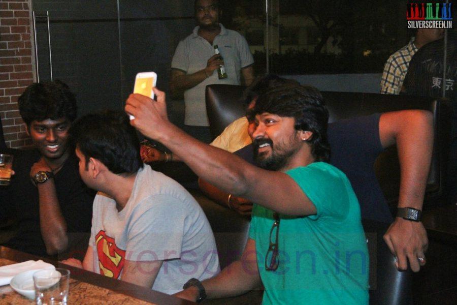 Actor Kreshna at Kappal Dinner with Stars Contest Stills