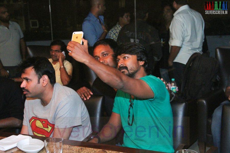 Actor Kreshna and Premgi Amaren at Kappal Dinner with Stars Contest Stills