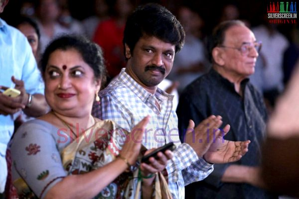 Director Cheran at the Kathalikka Neramillai 50th Year Celebrations