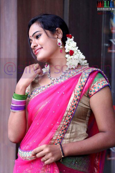 Actress Shriya at the Manam Konda Kadhal Audio Launch
