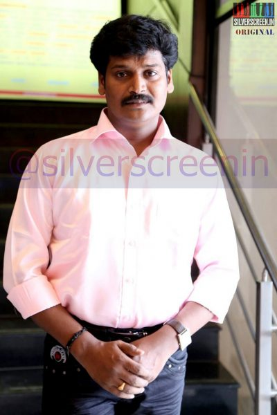 Actor Muthuram at the Manam Konda Kadhal Audio Launch