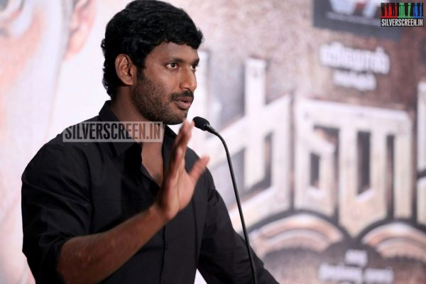 Vishal Krishna Birthday Celebrations at Poojai Press Meet