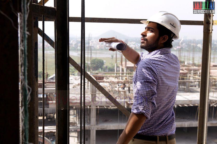 Actor Harish Kalyan in Poriyaalan Movie Stills