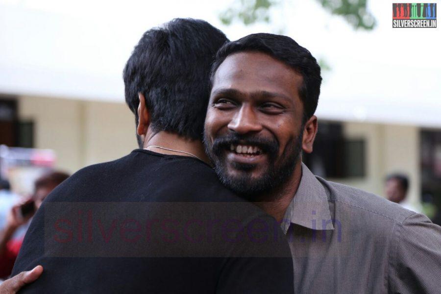 Director Vetrimaaran at Poriyaalan Press Meet Stills