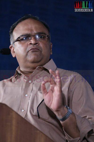 Actor Mohan V Ram at Poriyaalan Press Meet Stills