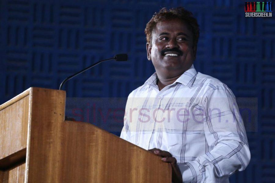 Director Thanukumar at Poriyaalan Press Meet Stills