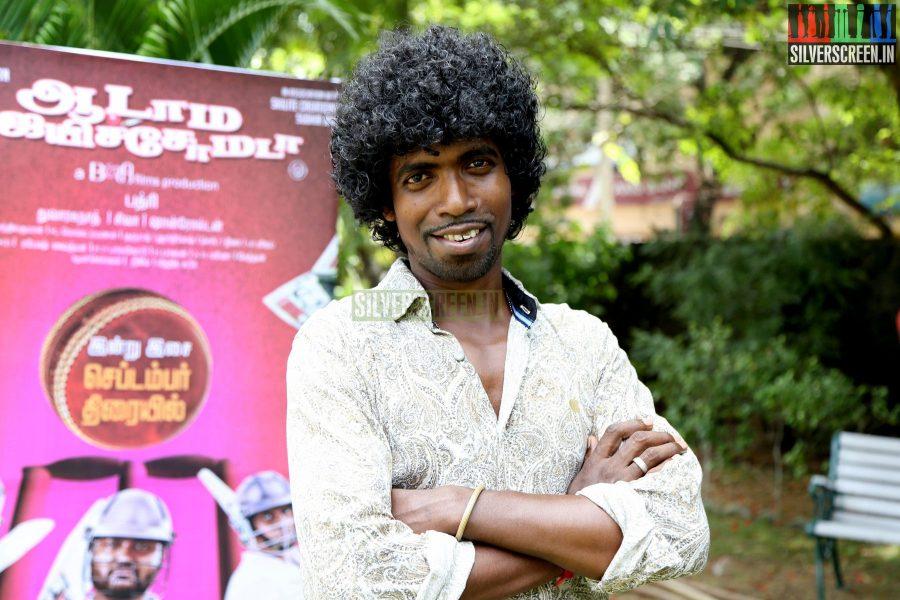 Actor Nippu at the Aadama Jaichomada Movie Press Meet
