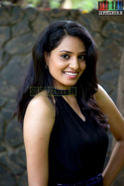Actress Harshita at the Aadama Jaichomada Movie Press Meet
