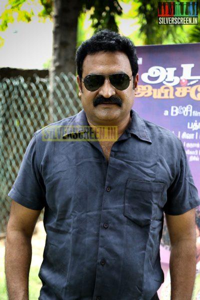 Actor Aadukalam Naren at the Aadama Jaichomada Press Meet