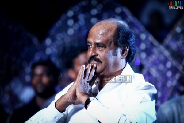 Rajinikanth at the I aka Ai Movie Audio Launch Stills