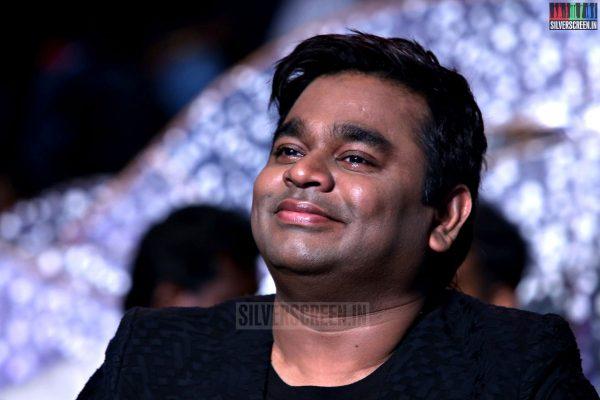 Music Director AR Rahman at the I aka Ai Movie Audio Launch Stills