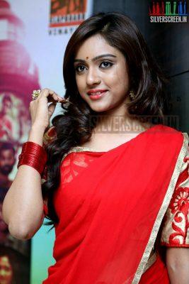 Actress Vrithika Sheru at Mahabalipuram Movie Audio Launch