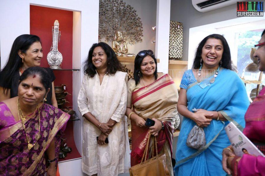 Suhasini Mani Ratnam at the Mantra Showroom Launch Photos