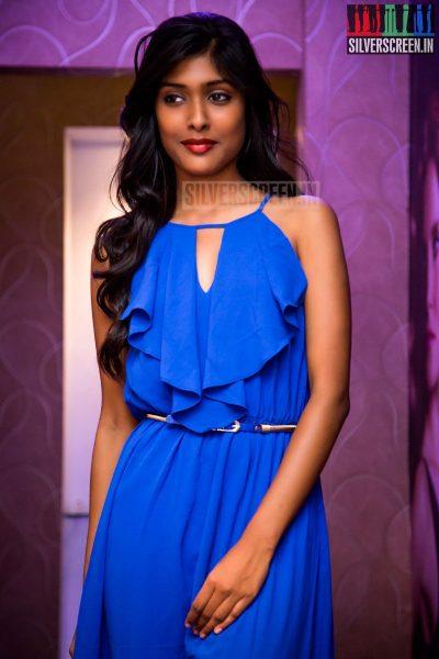 Chennai Model Gayathri Reddy at the Toni and Guy Essensuals Launch in Valasaravakkam - HQ photos