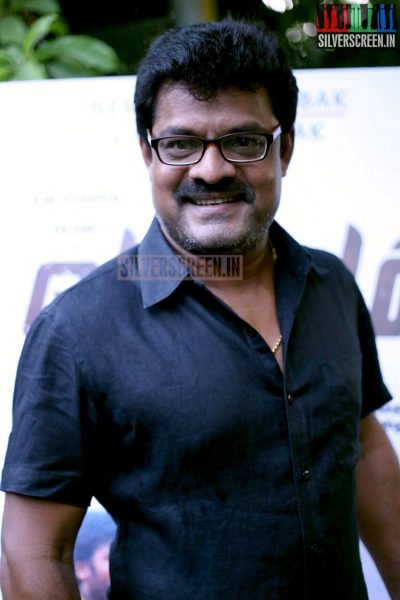 Actor Bose Venkat at the Vanmam Press Meet