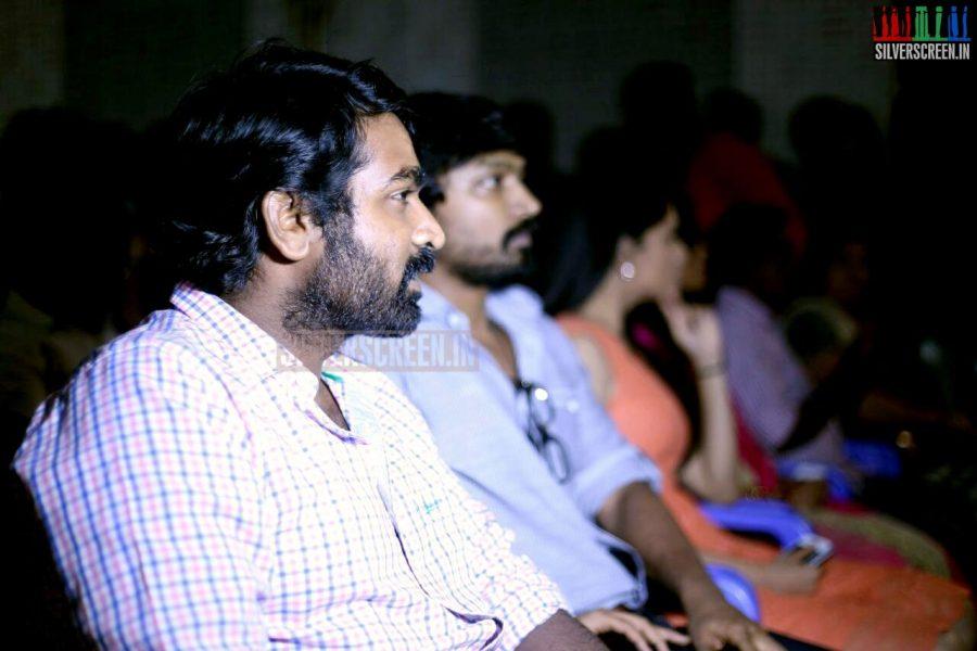 Actor Vijay Sethupathi at the Vanmam Press Meet