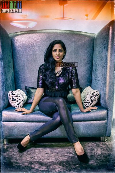 Actress Sriya Reddy Photos from her Exclusive Photoshoot with Si