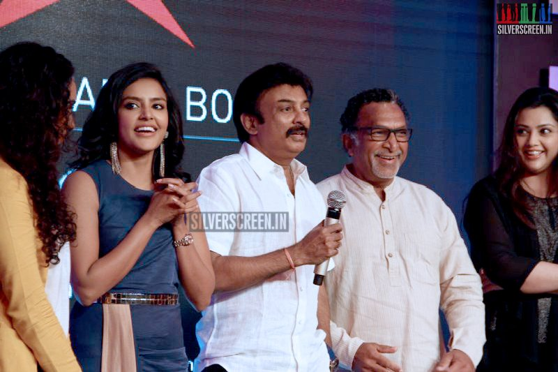 Celebrities at a Tabloid Launch