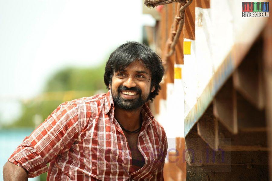 Actor Shabeer in Nerungi Vaa Muthamidathe Movie Working Stills