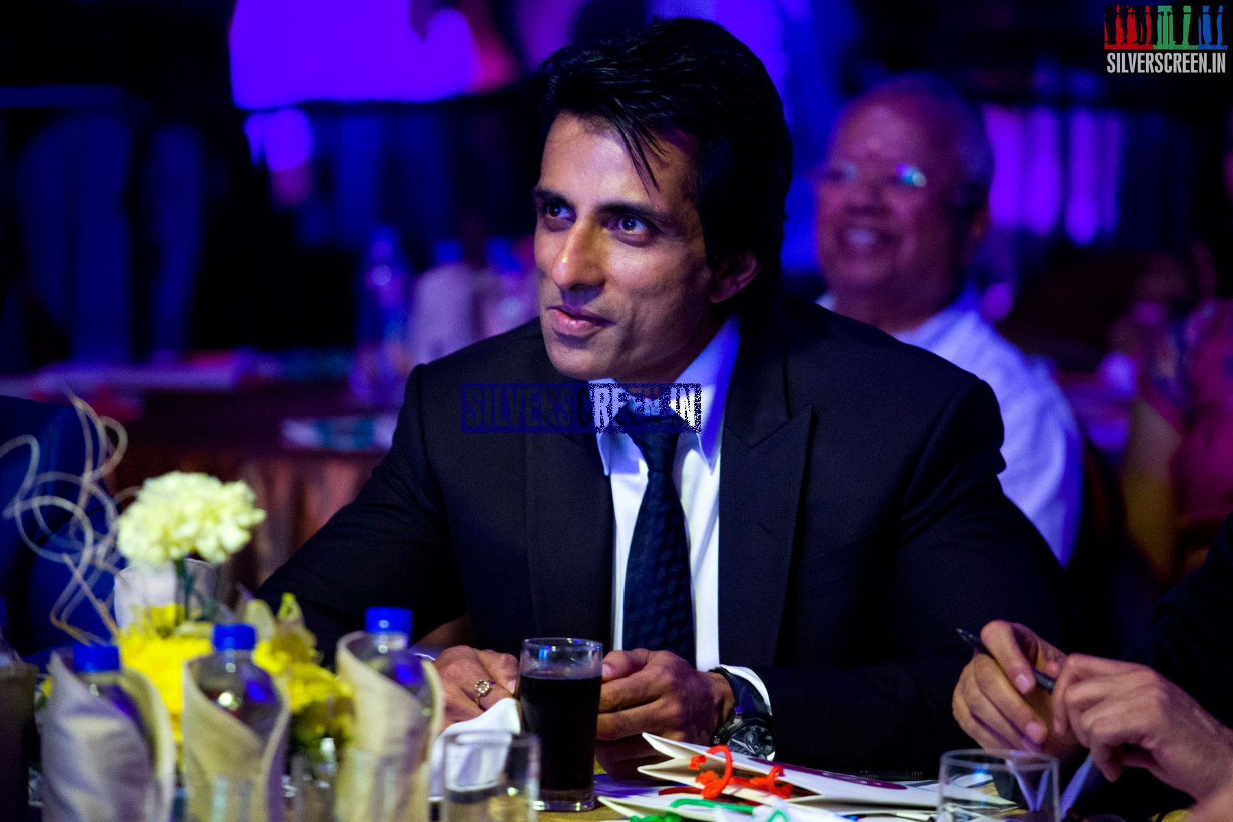 Actor Sonu Sood at Happy New Year Promo with Palam Silks