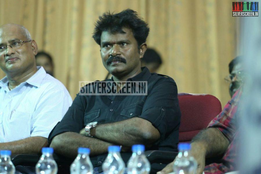 Director Hari at Poojai Press Meet Event