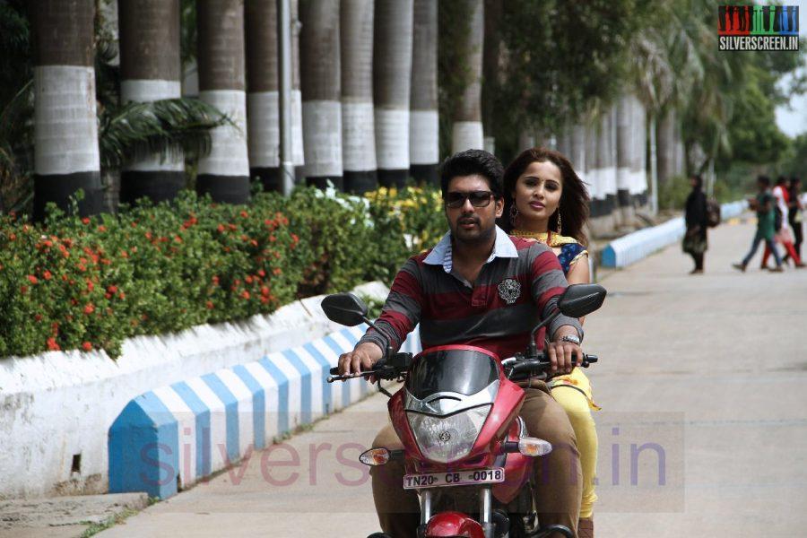 Actor Vinay Krishna and Actress Hashika in 1 Pandhu 4 Run 1 Wicket Movie Stills