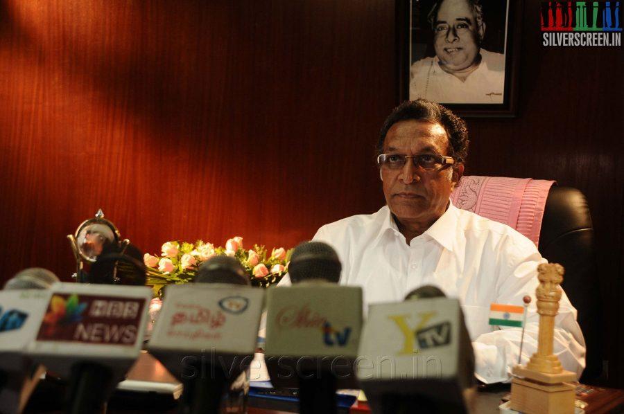 Nasser in the Appuchi Gramam Movie Stills